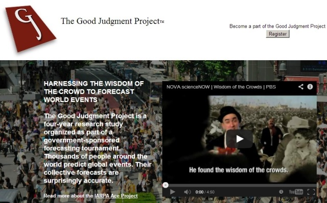 The Good Judgement Project