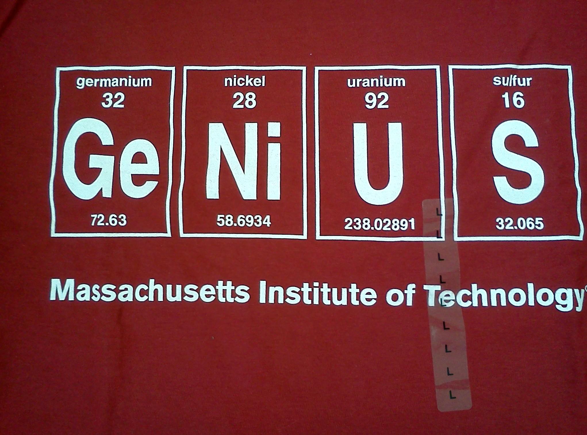 the best attitude 7f9f8 66643 MIT Genius T-shirt | Delightful & Distinctive COLRS