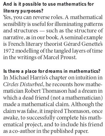 Mazur - Use Mathematics for Literary Purposes