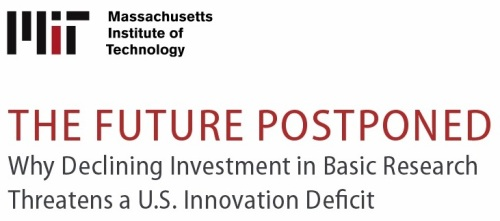 MIT Innovation Deficit Report