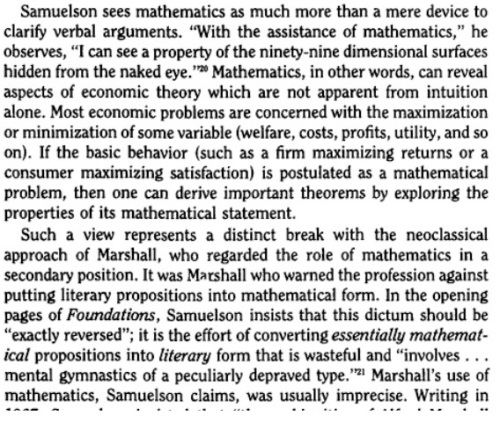 On Mathematics in Economics - Academic Scribbers